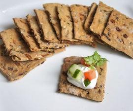 Whole Wheat Veggie Crackers