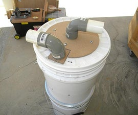 Mini Cyclone Bucket Dust Collector