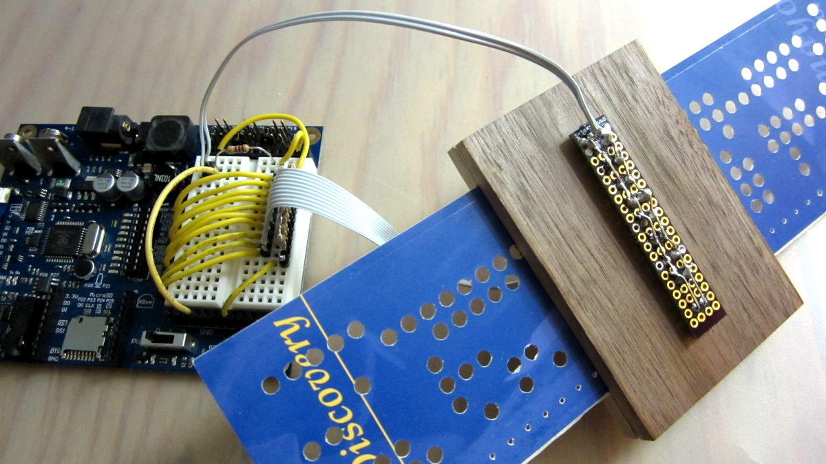 Picture of DIY Paper Tape/Punch Card Maker and Reader
