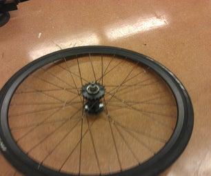 Tie and Solder a Bike Wheel