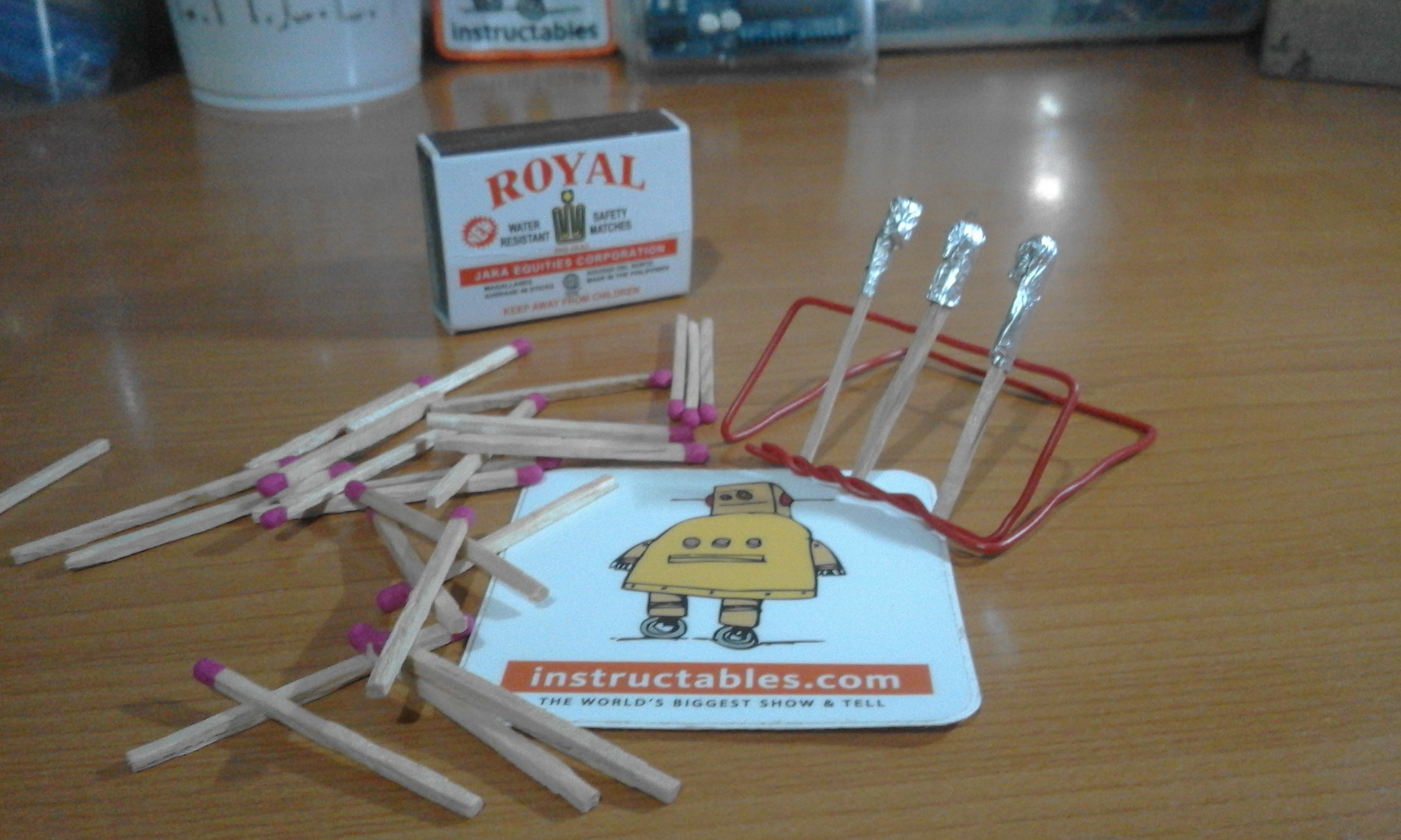 Picture of Rocket Science: Make a Matchstick Rocket!