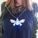 Zelda Navi Fairy LED Necklace/Ornament