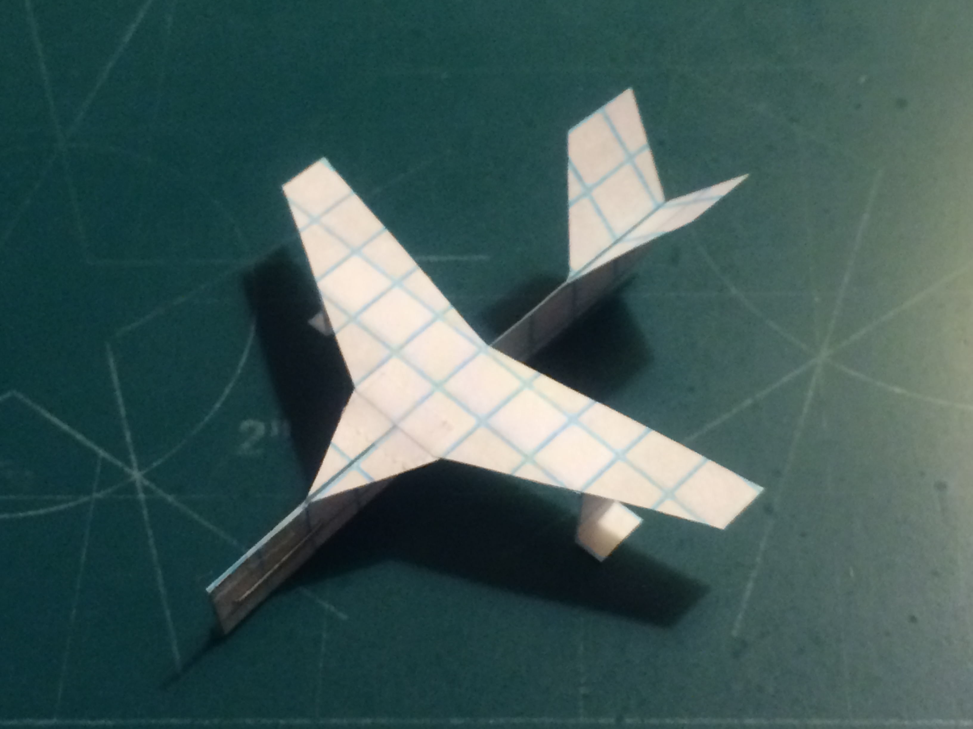 Picture of How to Make the Turbo AeroScout Paper Airplane