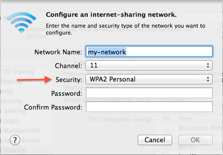 Picture of Create WiFi Network
