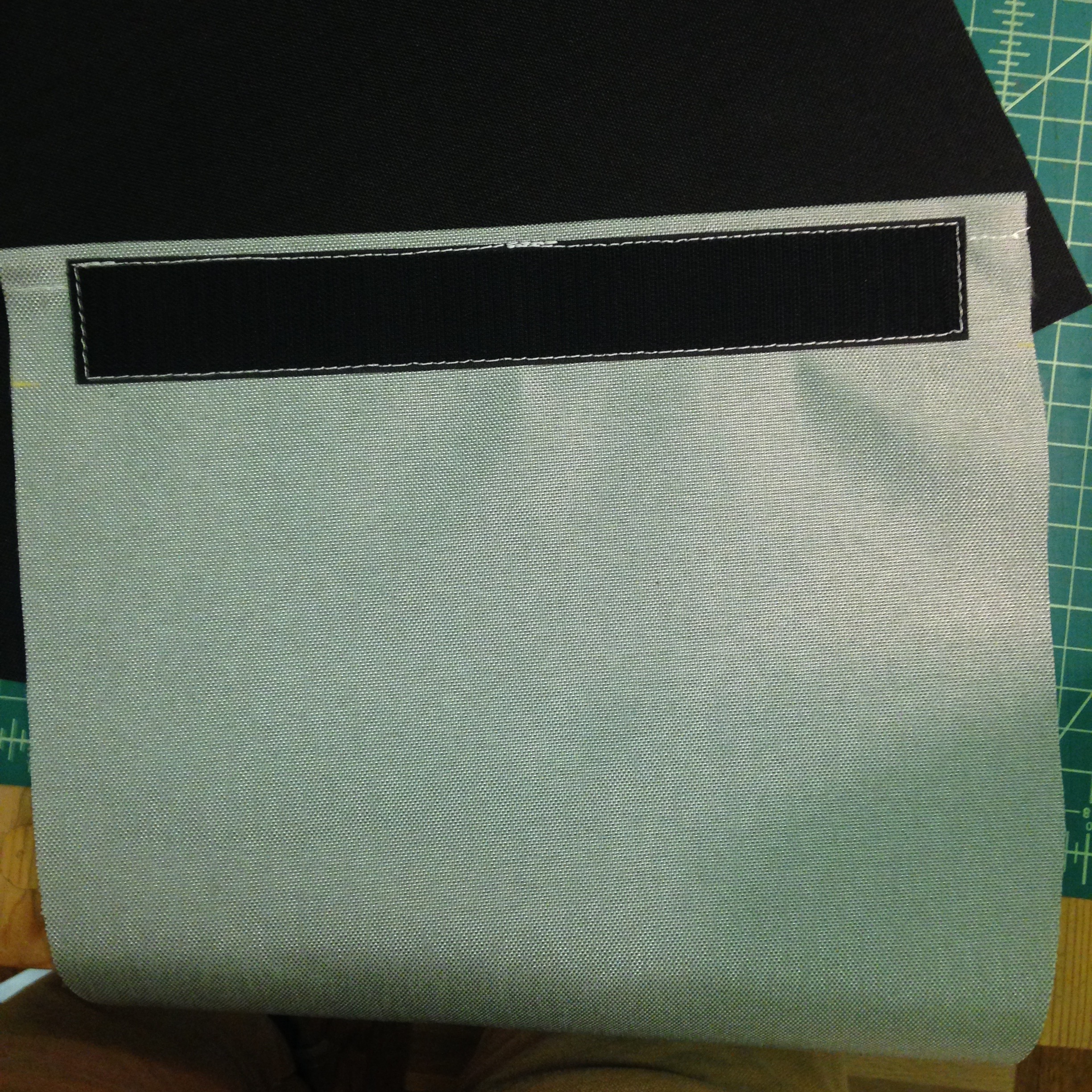 Picture of Stitch Hook Velcro Onto Sleeve