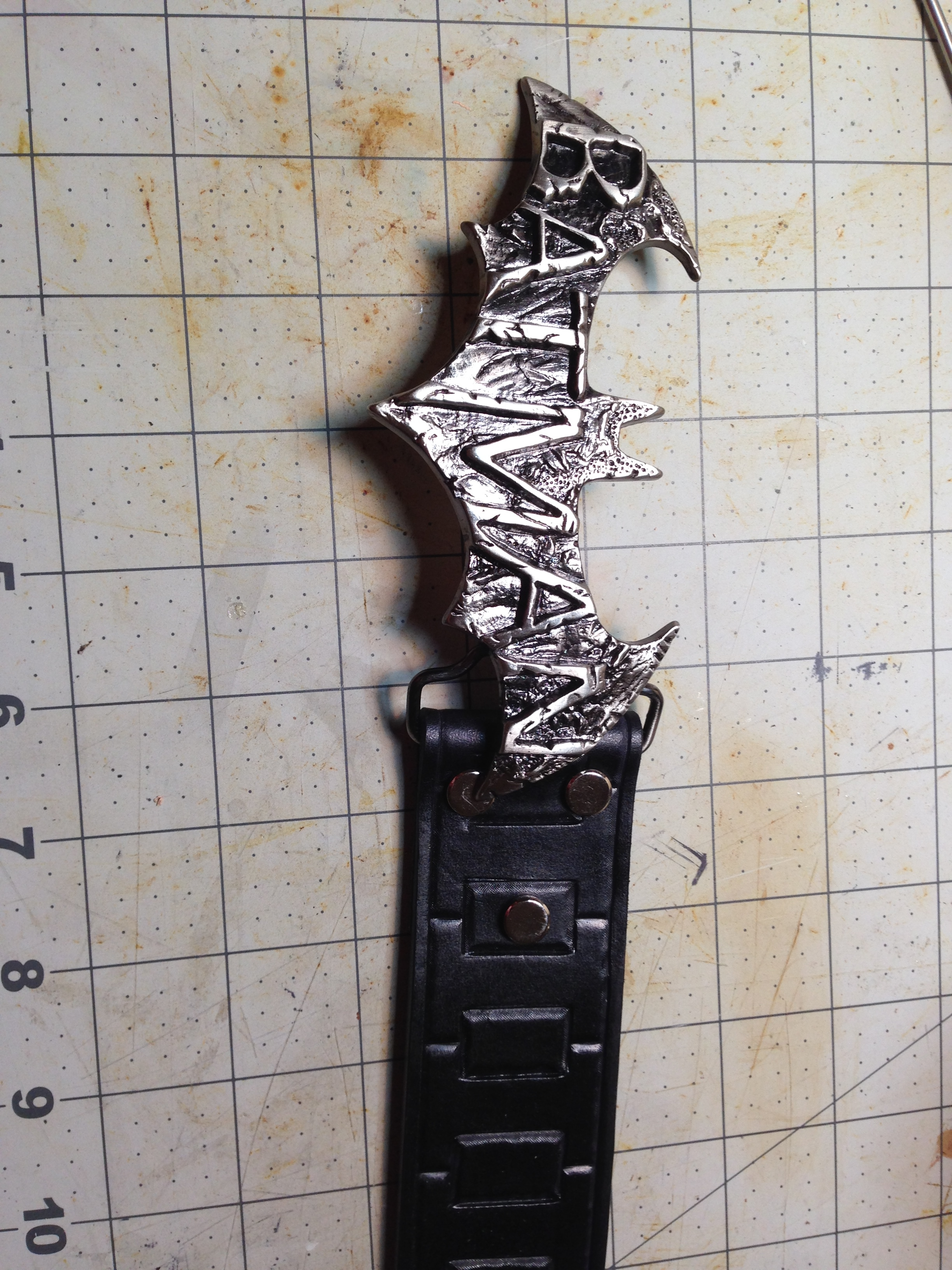 Picture of Finishing Process of the Leather Belt