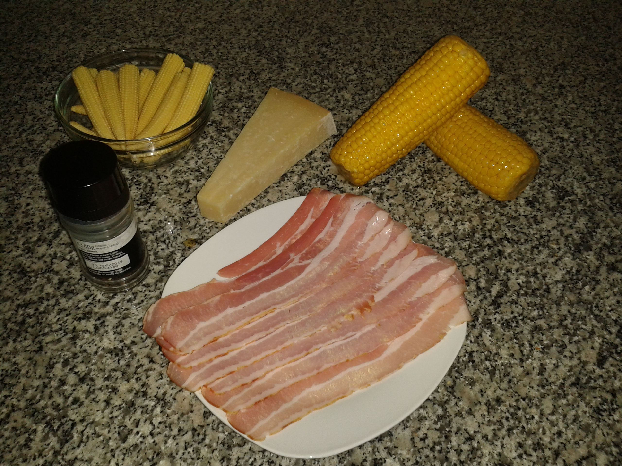 Picture of Parmesan Bacon Baby Corn Recipe