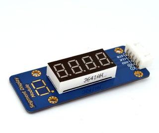 Adeept TM1638 LED 4-Digit 7 Segment Digital Display Module