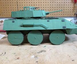 Cardboard Armored Car