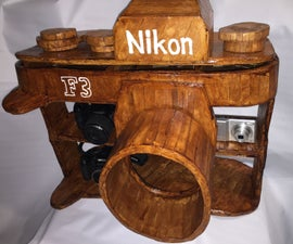 Camera Display Camera Shelf