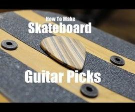 How to Make Skateboard Guitar Picks