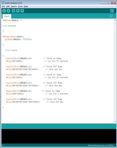 Uploading and Tweaking the Code