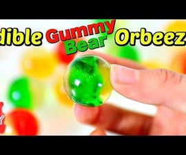EDIBLE ORBEEZ WITH GUMMY BEARS!  EASY RECIPE!