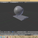 How to make a mini Death Star with a stand with blender