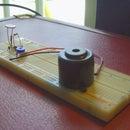 """Dark Detector"" using a 555 timer IC"