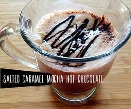 Salted Caramel Mocha Hot Chocolate Recipe
