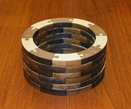 Segmented Turning Blank (for Bowls and Cups)