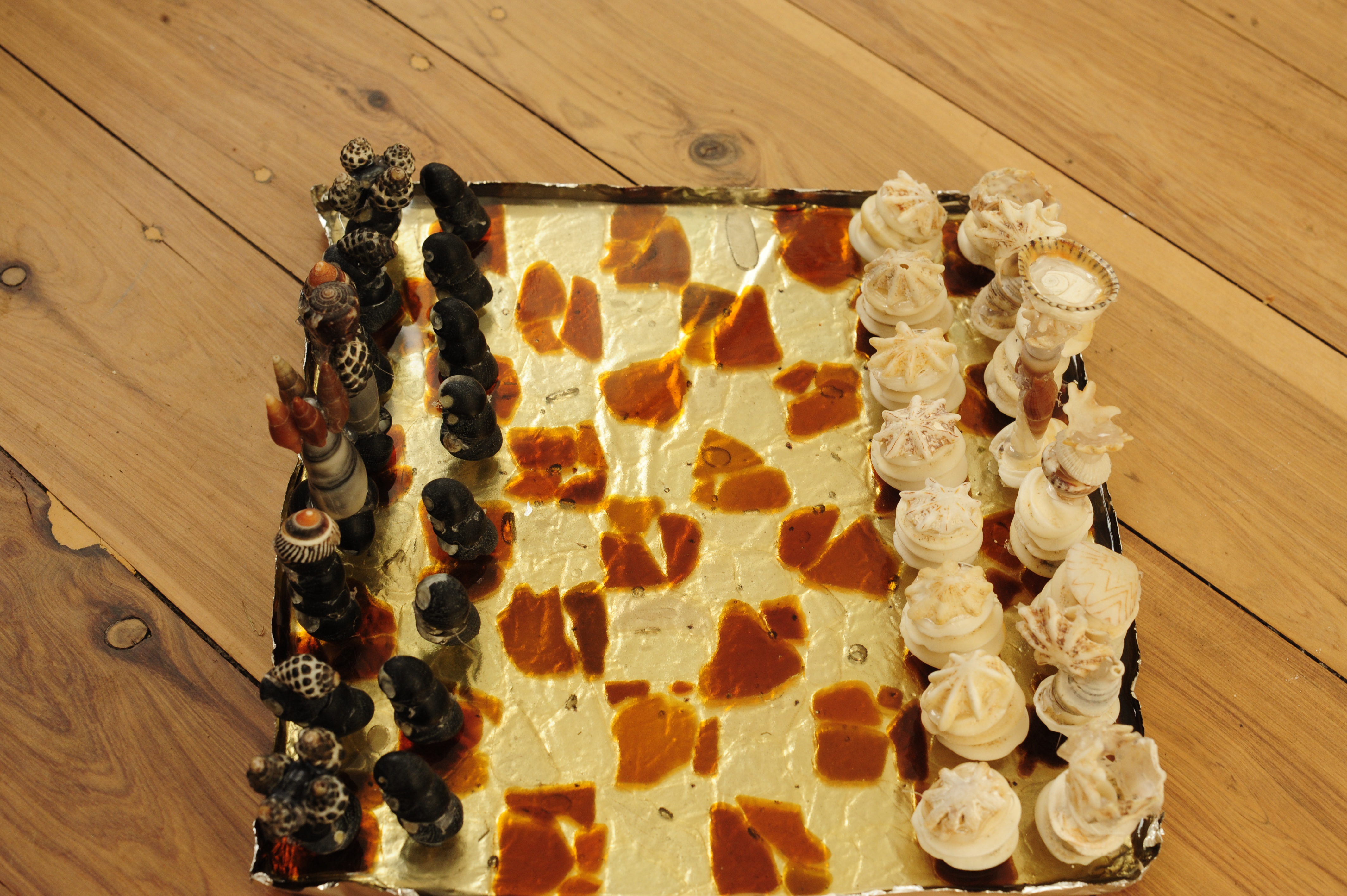Picture of Chess Set Made From the Sea