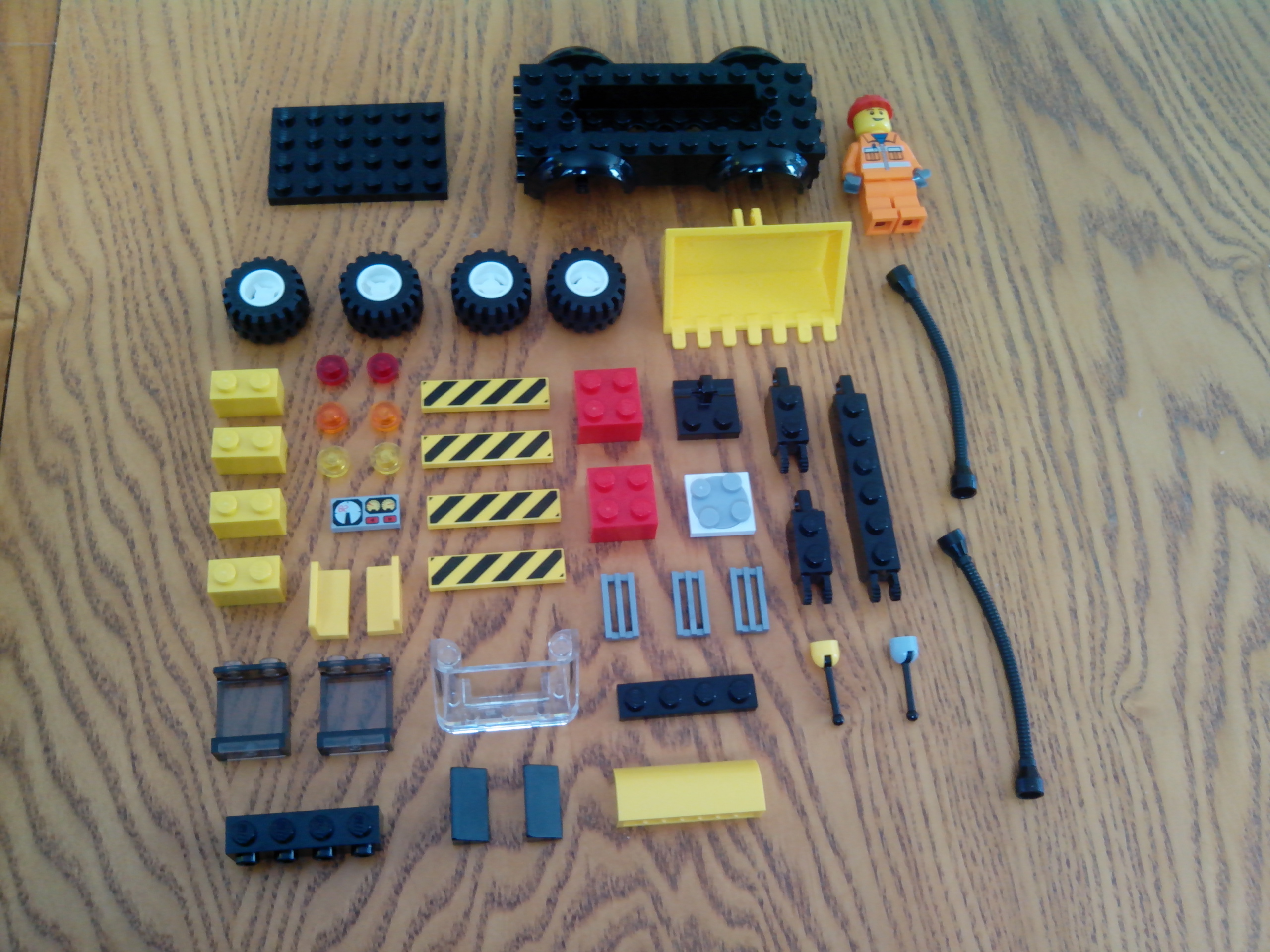 Picture of The Parts List