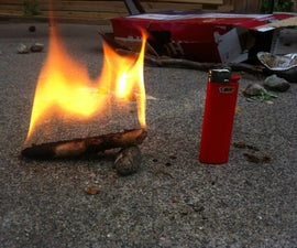 Sawdust Fire starters