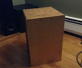 Make your own snare Cajon