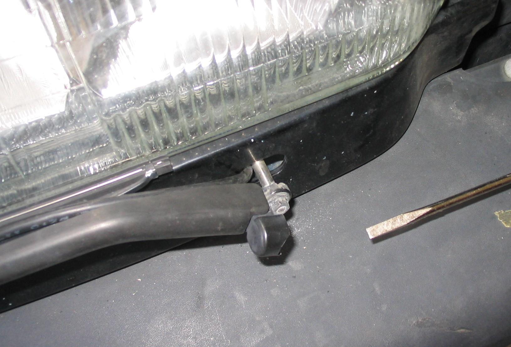 Picture of Remove the Headlight Wiper