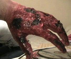 Burnt Flesh Makeup