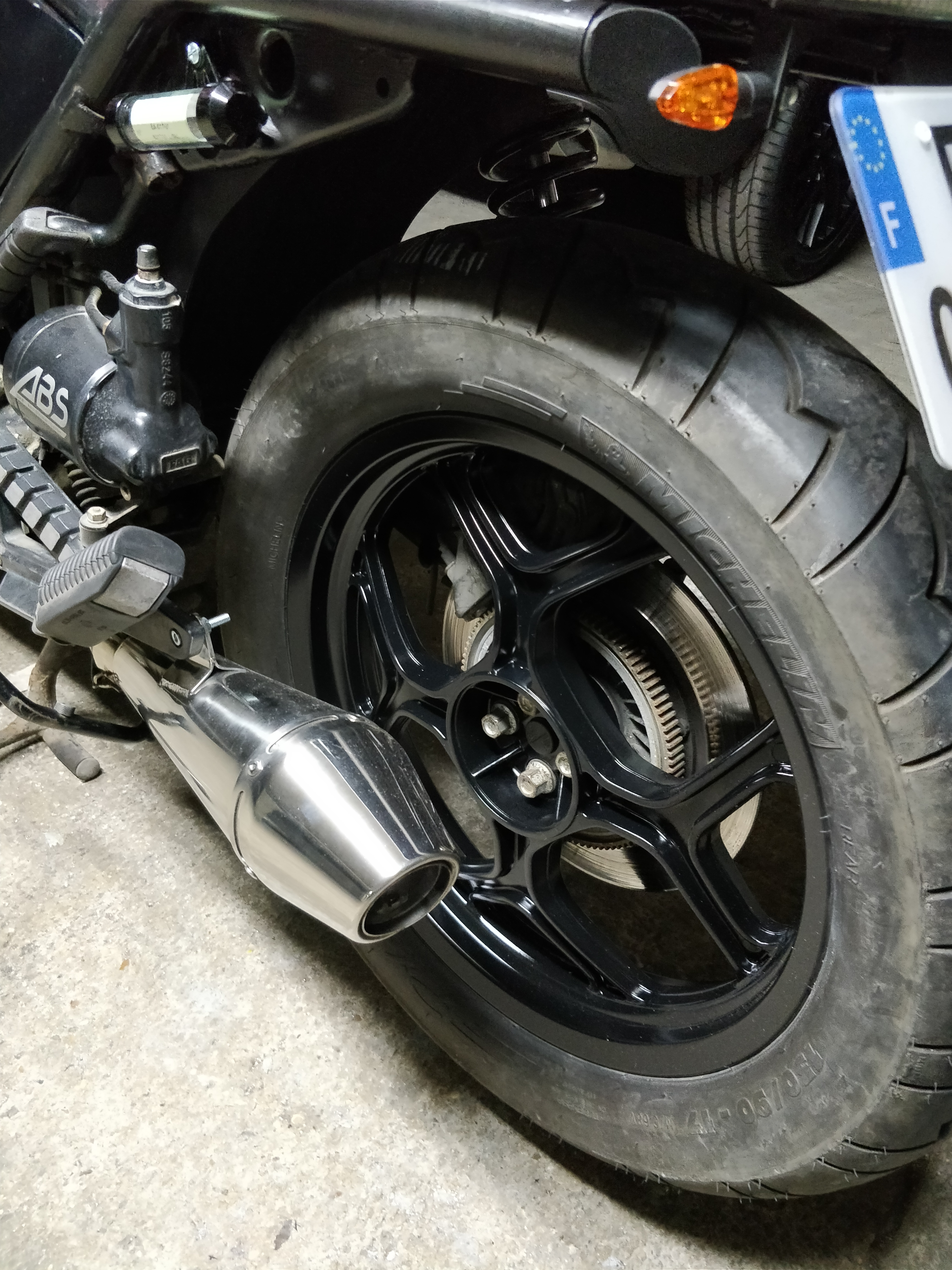 Picture of How to Easily Paint Motorcycle Wheels
