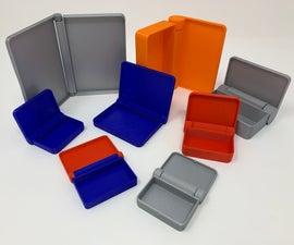 """Designing a Parametric """"Print in Place"""" Hinged Container Using Autodesk Fusion 360"""