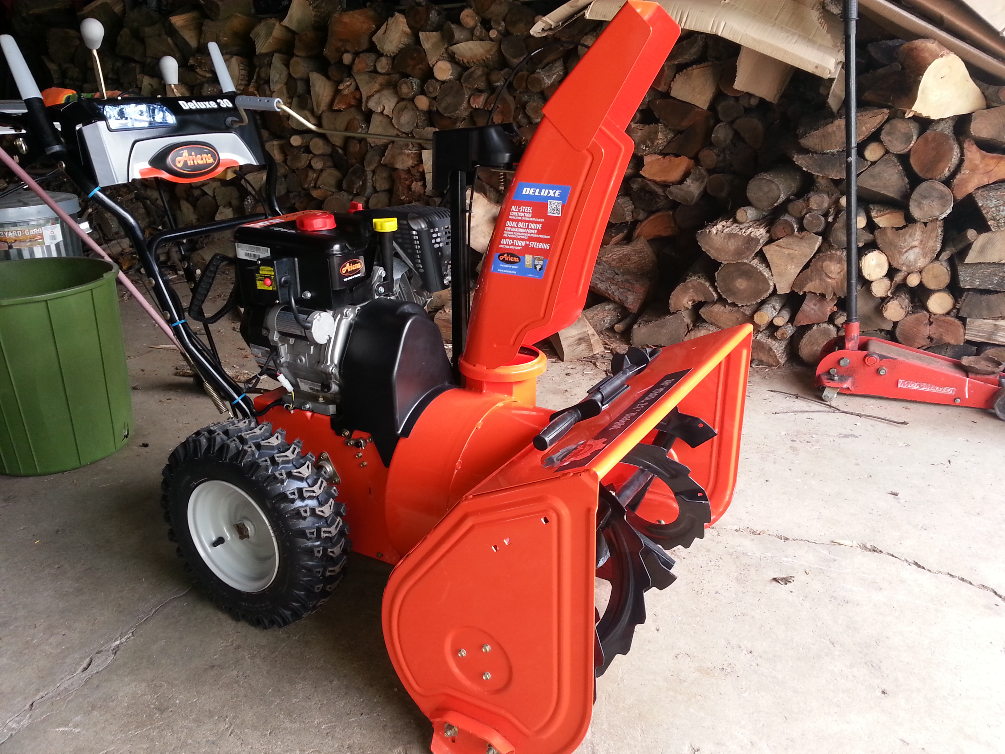 Picture of Adding Toggle Light Switch to Ariens Deluxe
