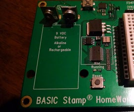 2-Axis JoyStick on a Basic Stamp