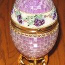 Beaded Goose Egg