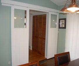 Craftsman Style Sliding Doors