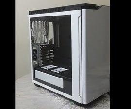 NZXT H 440 case mod