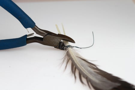 Wrap Feathers and Cut Ends
