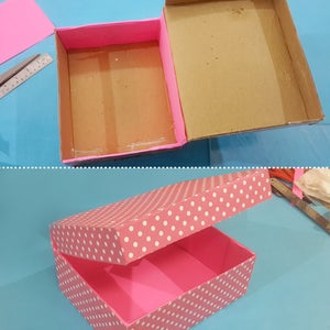 Let's Make Box for Bangle Stand!