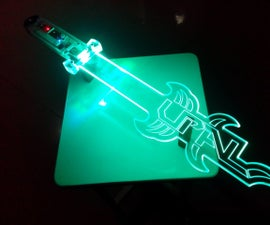 LED Sword