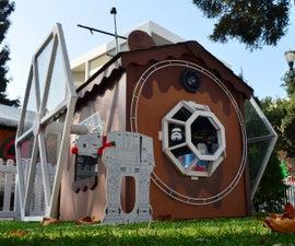 Star Wars Tie Fighter Playhouse