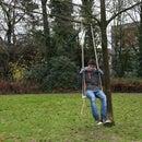 DIY portable swing