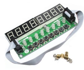 Arduino and TM1638 LED Display Modules