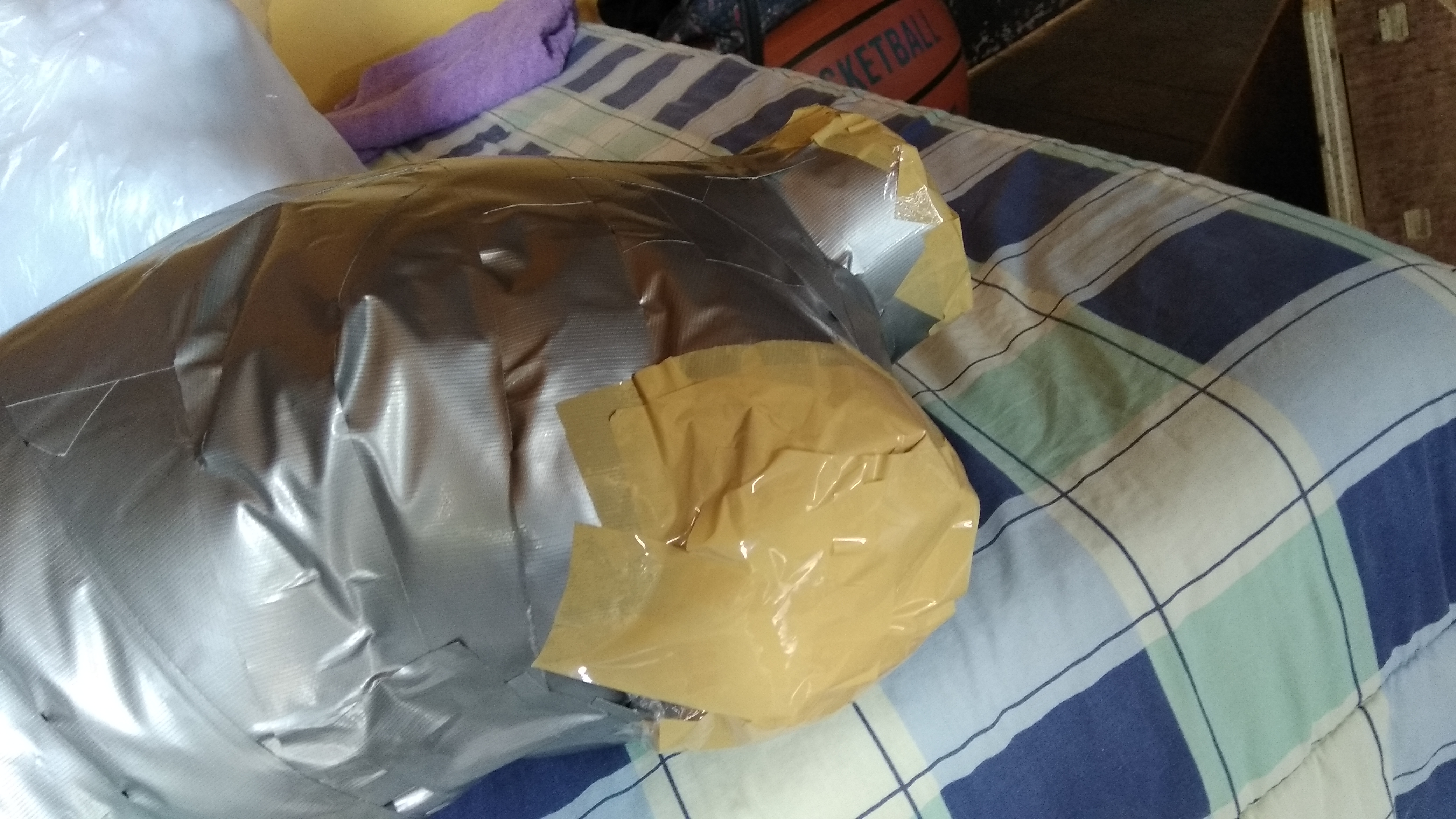 Picture of Stuffing the Tape Dress Form