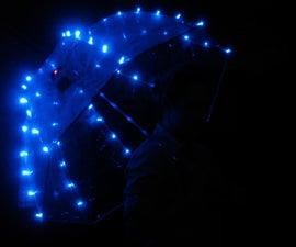 Programmable LED Umbrella