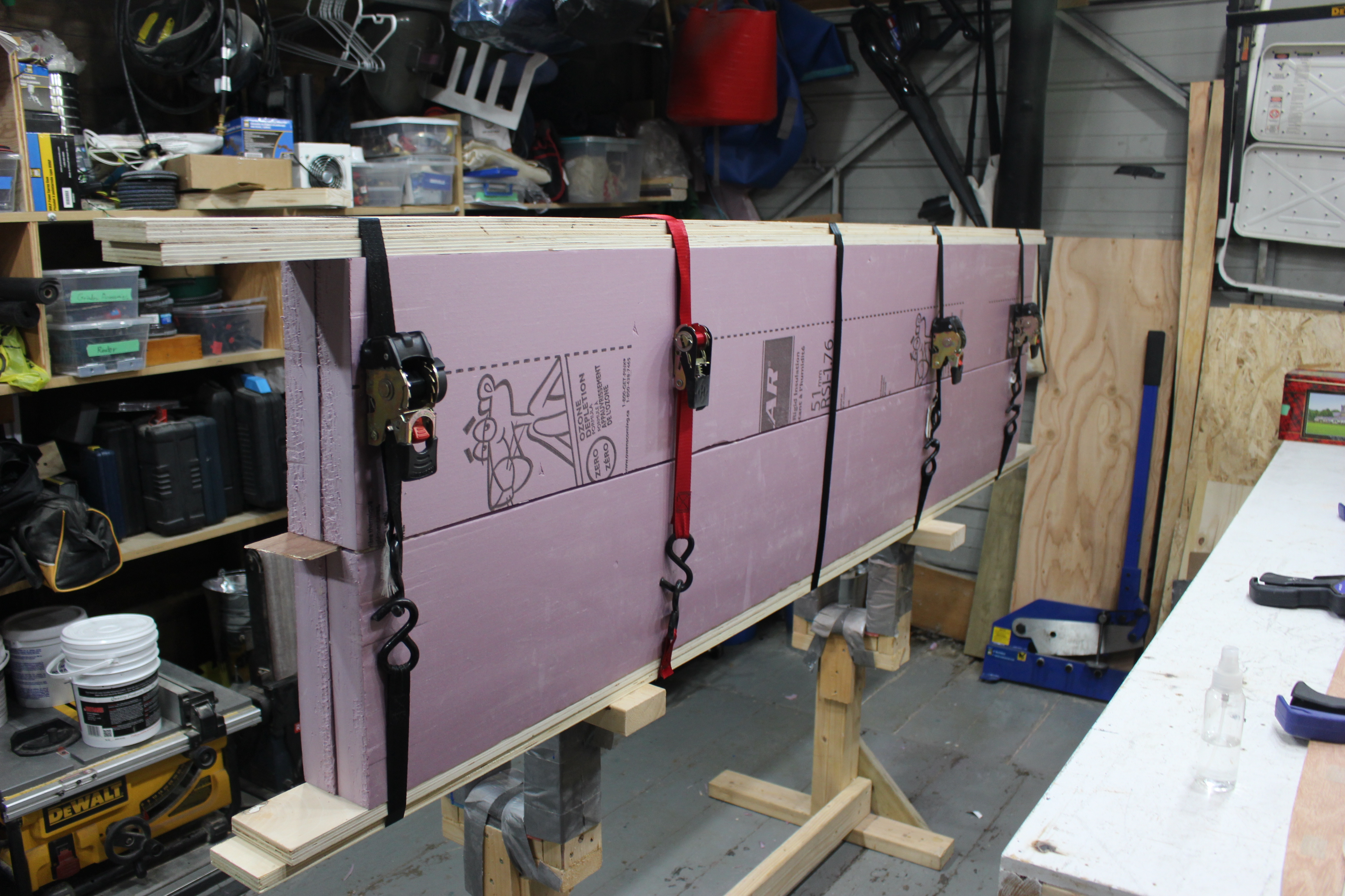 Picture of Installing the Stringer