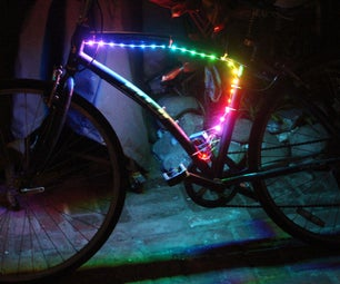 DIY Bike LED Lights
