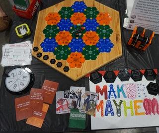 Maker Mayhem: a Hackerspace Board Game