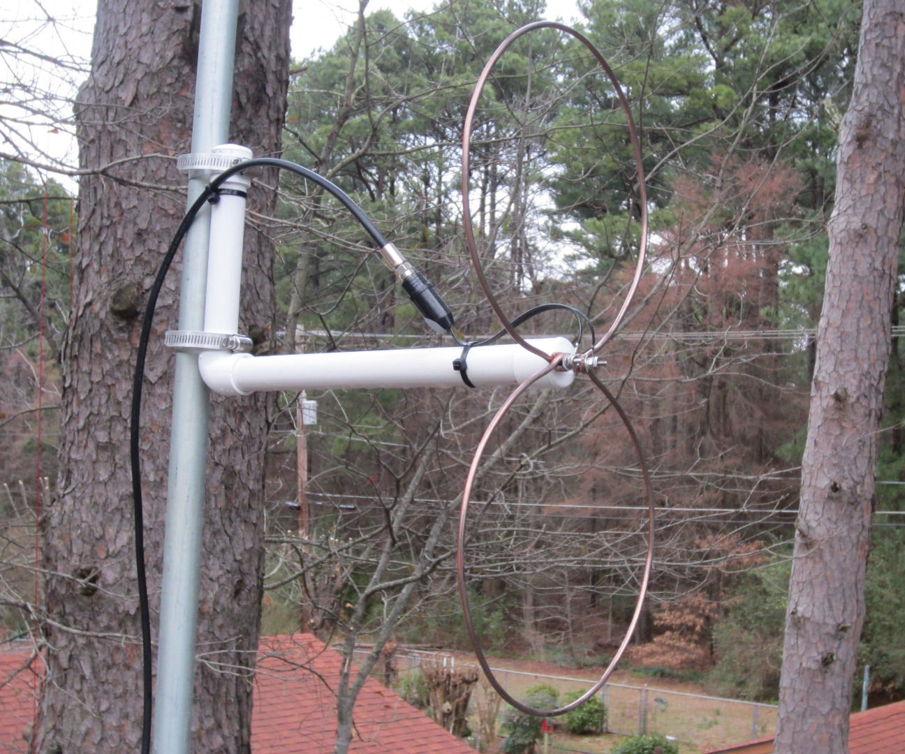 Build the Pennyloop UHF Antenna: 3 Steps (with Pictures)
