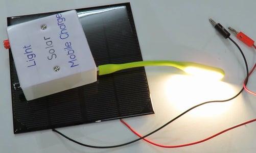 Mini Solar System - Power Banck