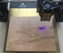 Laser Engraving on Your Prusa MK3