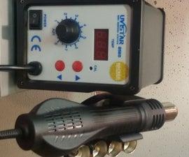 858D SMD Hot Ait Reflow Station Hack