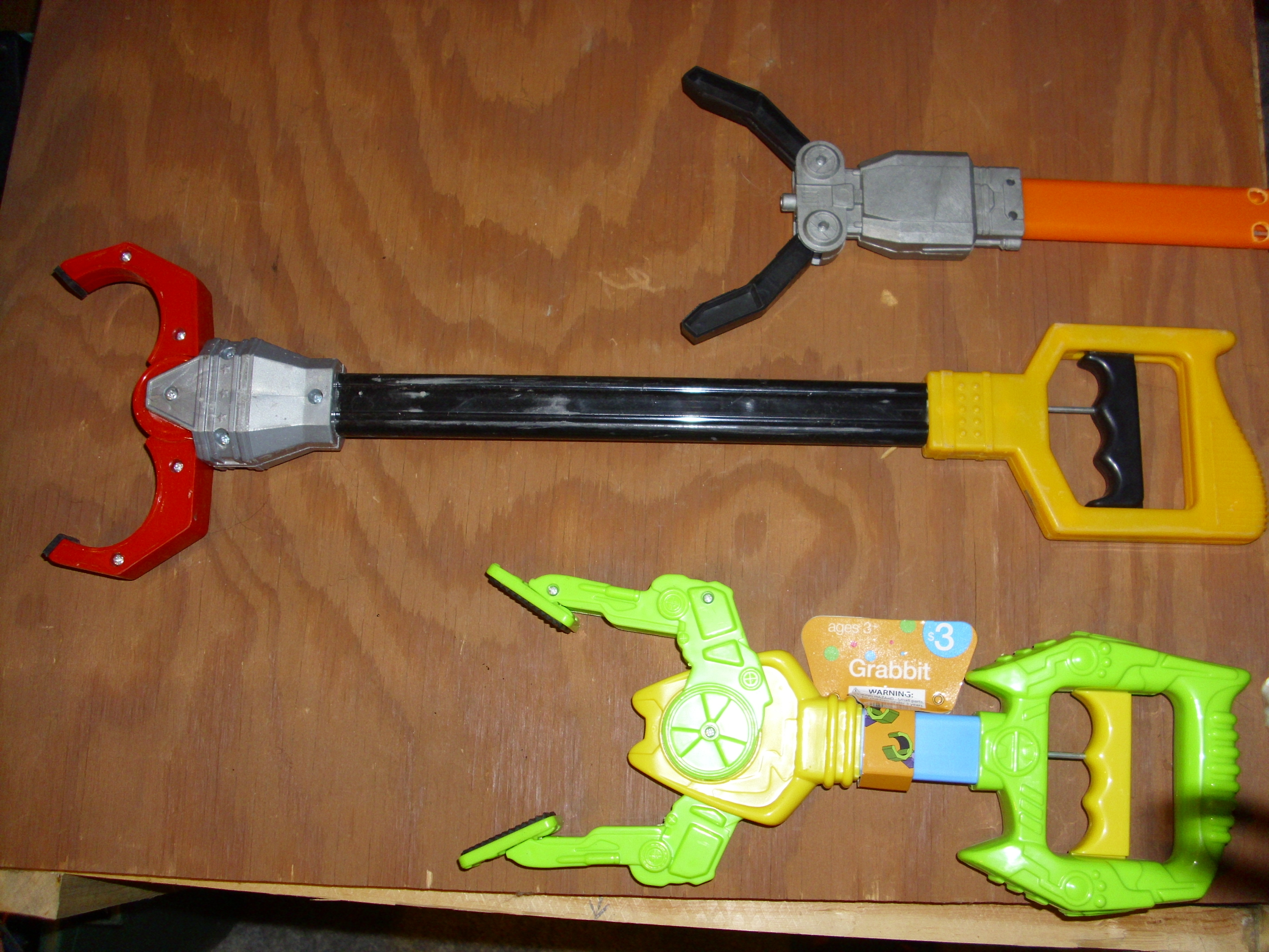 Picture of Converting a Toy Claw/gripper Into Servo Controlled
